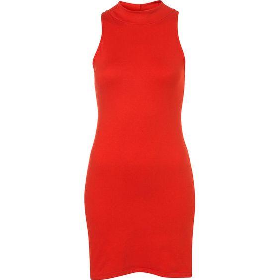 **Zabby Dress by Motel ($51) ❤ liked on Polyvore