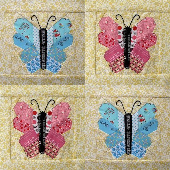 Pretty little signature butterflies