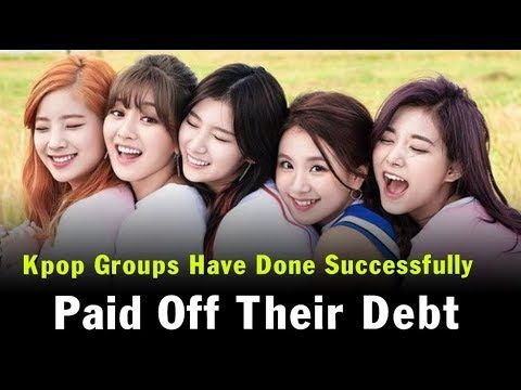 10 Kpop Groups Have Done Successfully Paid Off Their Debt Kpop Groups Kpop Boy Groups