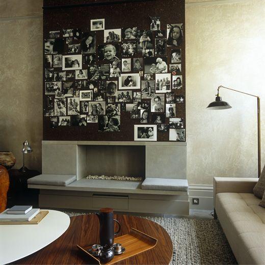 Com a Tinta Magnética crie uma parede para colocar as suas melhores fotografias. Escolha ímans que se enquadrem na divisão e no tema e depois é só escolher as fotografias. Terá o seu álbum na parede, onde pode alterar e acrescentar todas as fotos que quiser.