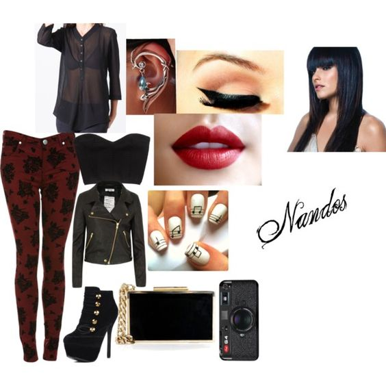 """Nandos with the roomates"" by in-that-moment-we-are-infinite on Polyvore"