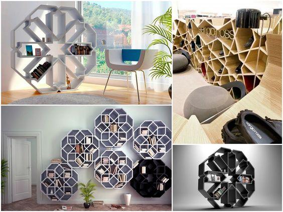 Shelves by Younes Design Studio https://www.facebook.com/splyceID/photos/pcb.239309102936199/239308956269547/?type=1&theater  #furniture #design #interiors #interiordesign #book #northafrica #younesdesign #moroco #arabian #arabic #inspiration #retail #architect