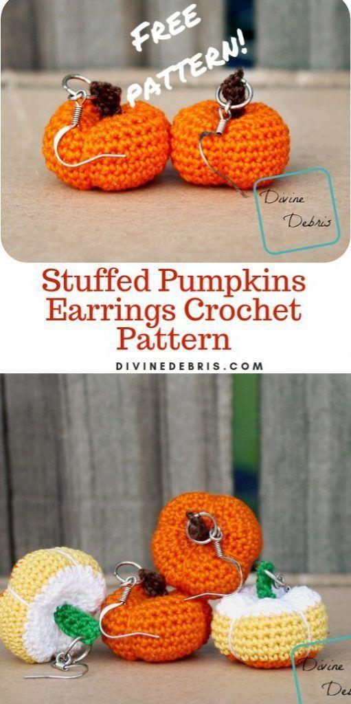 Amigurumi Strawberries crochet earrings and pink beads   Etsy   1024x511