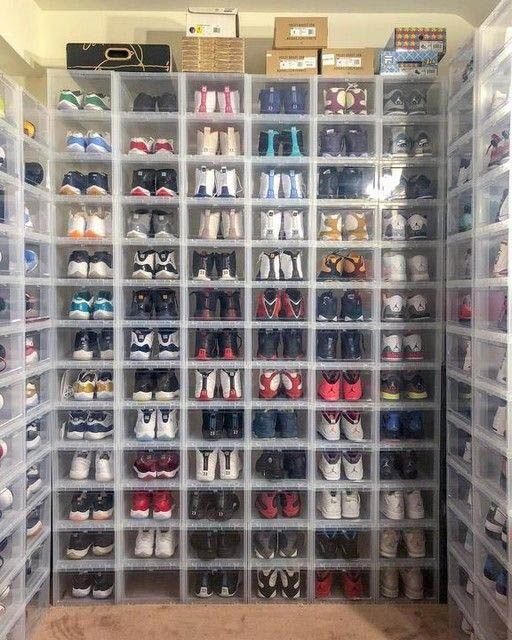 Incredible Shoe Rack Ideas Shoe Organization Closet Closet Shoe Storage Shoe Box Storage