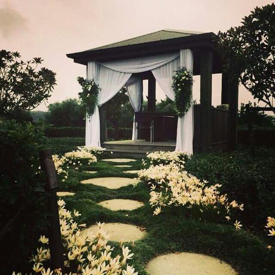 La Lumiere wedding draping New Zealand httpwwwpurenzweddings