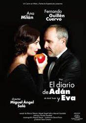 Hoy: El diario de Adán y Eva en el Palau de Altea http://www.agendalacant.es/index.php/el-diario-de-adan-y-eva-en-el-teatro-principal