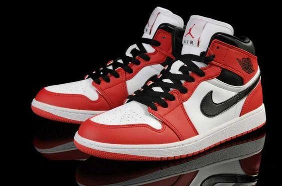 nike shox cuir sparkle rival marche chaussures - Homme Nike Air Jordan 1 Air Cushion Marine Blanc Rouge [T97c ...