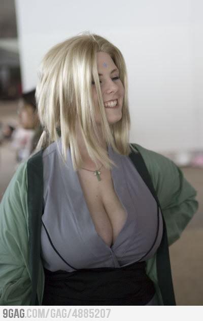 Lady tsunade huge tits