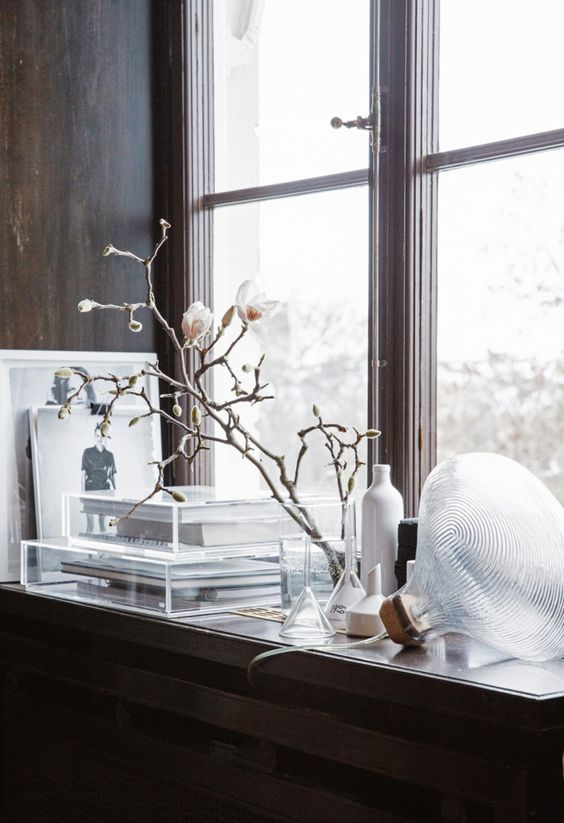Magnolia Branches, Pella Hedeby, My Home, via http://www.scandinavianlovesong.com/
