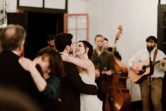 Wedding reception dance party asheville wedding photography