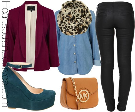 """""""Fall Colorblocking (Part 4)"""" by adoremycurves ❤ liked on Polyvore"""