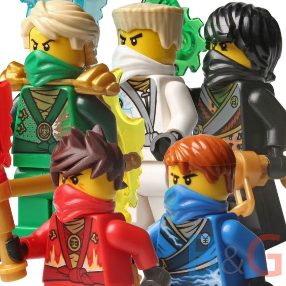 details about lego ninjago set5 rebooted zane cole lloyd