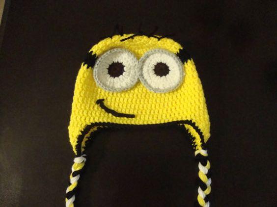 Despicable Me Minion  crochet hat
