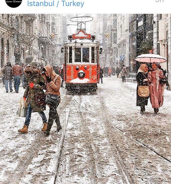 Istanbul Turkey in Winter Simply Beautiful!