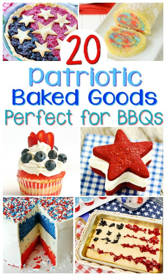 The 20 Best Patriotic Dessert Recipes | Mommy Bunch