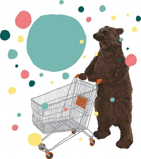 Bear illustration by Chris Thornley: