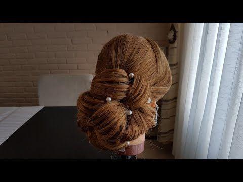 How To Make Wedding Updo تعلمي تسريحة شعر للسهرة Youtube Hair Styles Hair Beauty Wedding Updo