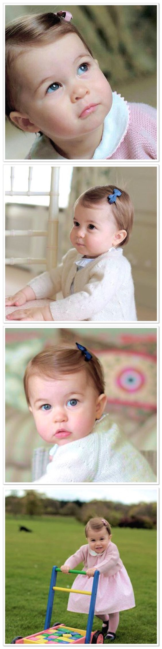 Happy 1st Birthday Princess Charlotte!! It seems like yesterday when Kate stepped out of St.Marys hospital carrying a bundled up tiny baby Charlotte- With Love, Rachel Ohebshalom