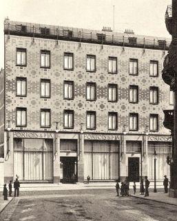 Max Fabiani, Firmengebäude Portois & Fix , 1899
