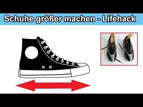 Schuhe Weiten Eine Nummer Grosser Machen Zu Enge Kleine Schuhe Vergrossern Anleitung Youtube Schuhe Neue Schuhe Anleitungen