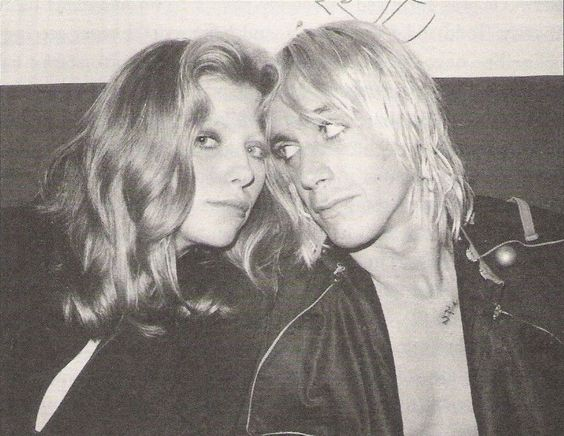 Bebe Buell and Iggy Pop: