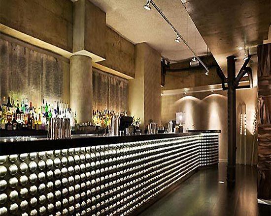 Restaurant lighting design ideas with dramatic effect
