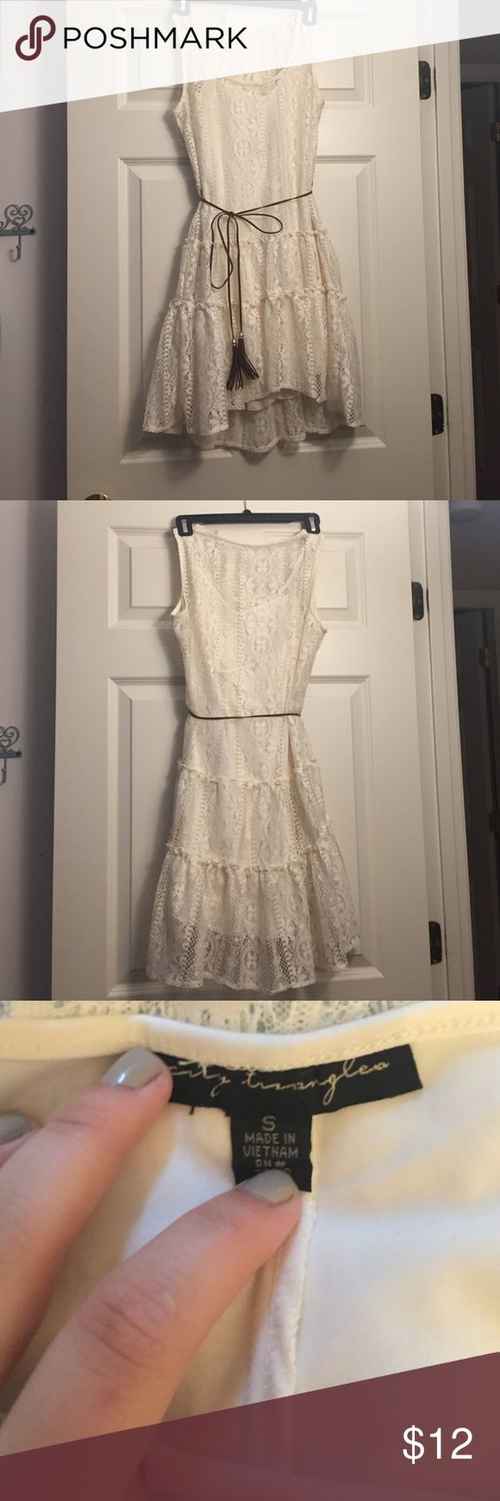 🌸White Lace Dress🌸 🔃Open to trading🔃 ❗️20% off bundles❗️ 💸Prices are negotiable, just ask!💸 Dresses Midi