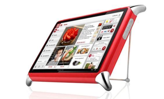 QOOQ, la tableta hecha para la cocina.