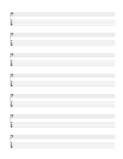 Guitar bass guitar tablature : Pinterest • The world's catalog of ideas