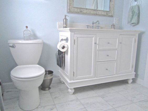 Vanity w/ countertop & sink from amazon for under 1k shipped.