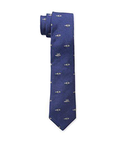 Band of Outsiders Men's Delorean Tie (Blue)