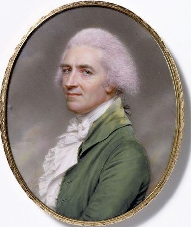 Honest Selfie! John Smart, born 1742 - died 1811 (artist), painted 1797. Smart's reputation for catching a likeness was deserved. He was a sober, quiet man, one who offered his clients direct honest facsimiles of their features. He has here painted himself in exactly that way.