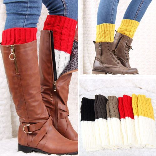Boot cuff {2 colors in 1!} Assorted colors!