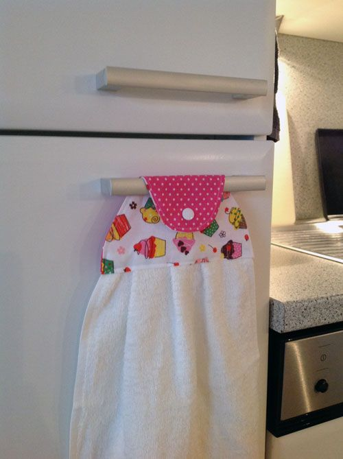 Muttertags-DIY - Küchentuch - Handmade Kultur