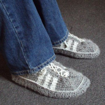 Design, Crochet slipper pattern and Products on Pinterest