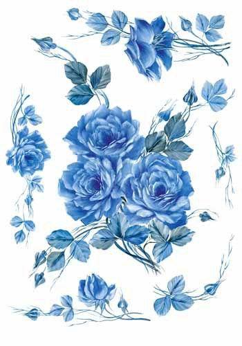 flores - découpage: