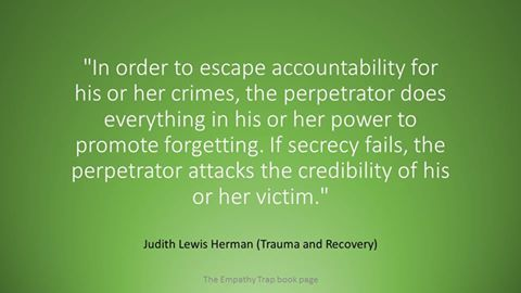 The abusive relationship can only exist in secrecy