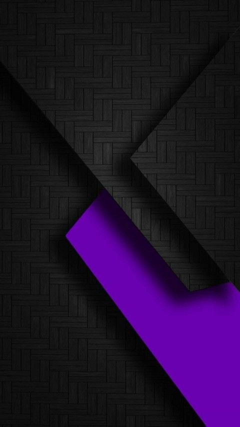 Abstract Amoled Wallpaper 4k Ultra Hd In 2020 Purple Geometric Wallpaper Black And Purple Background Cellphone Wallpaper