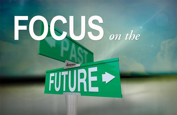 "Focus On | ... portion in Photoshop to reinforce the ""Focus"" on the ""Future"