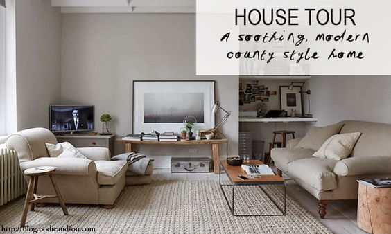 BODIE and FOU★ Le Blog | Effortless chic | French Interiors | Inspiring Design: A soothing, modern country style home
