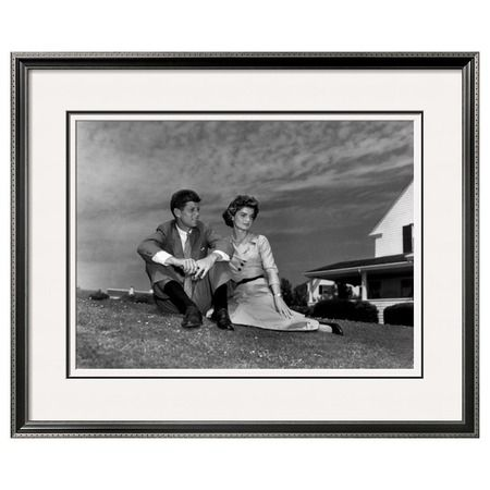 I pinned this Jack and Jackie, 1953 - Art.com from the Destination: Hyannis Port event at Joss and Main!