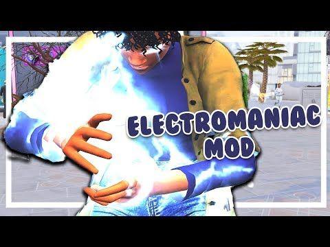 Electromaniac Mod Sims 4 Mods Youtube Sims 4 Sims Sims 4 Traits