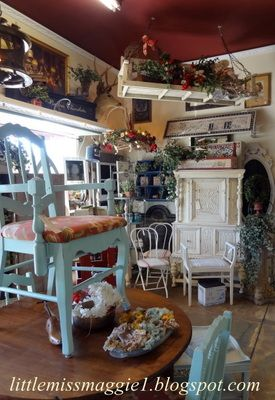 "GOOD read...jtr  The Polka Dot Closet: ""What Sells And What Doesn't: Antiques Mall In California"""