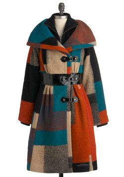 Tracy Reese Coat - Oh my!