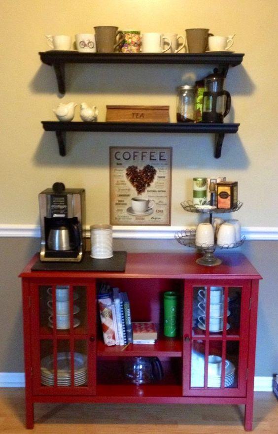 Vem ver algumas inspirações para o cantinho do café!: