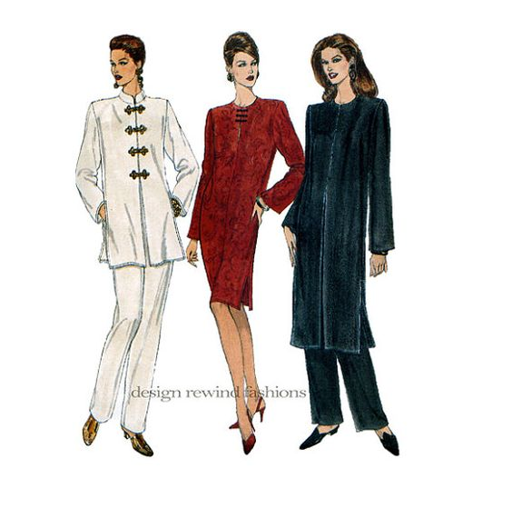 Sewing patterns vogue sewing dresses pants modern patterns vintage