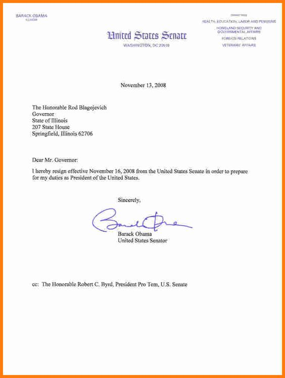 how write resign letter barack obama resignation letterg from - how to write introduction letter