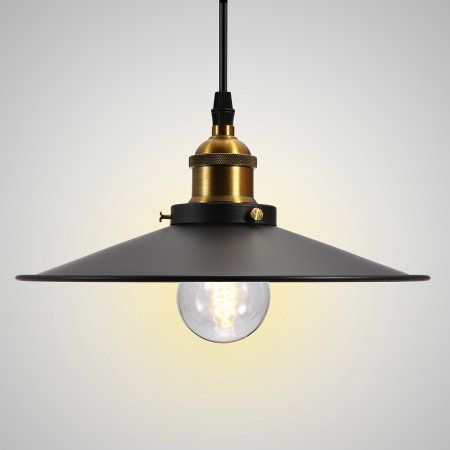 220v Retro Vintage Industrial Hanging Pendant Ceiling Light