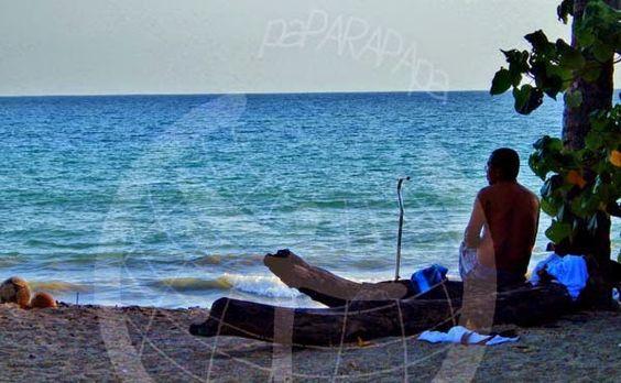 Detalles y gentes de Playa Garza. Costa Rica.
