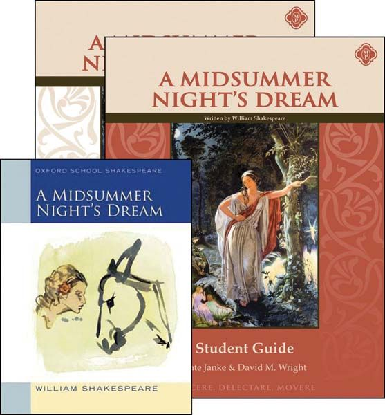 A Midsummer Night's Dream Set (13-14-15-16-17Y) [Comprehension] [Vocabulary] [Spelling] [Composition] [Grammar] [Drama]